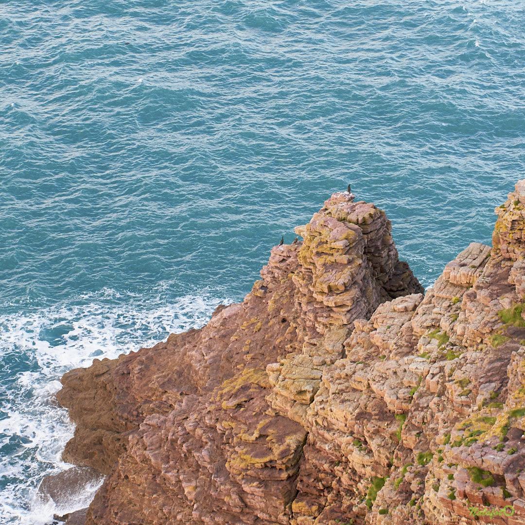 Rochers à l'extrême pointe du Cap Fréhel