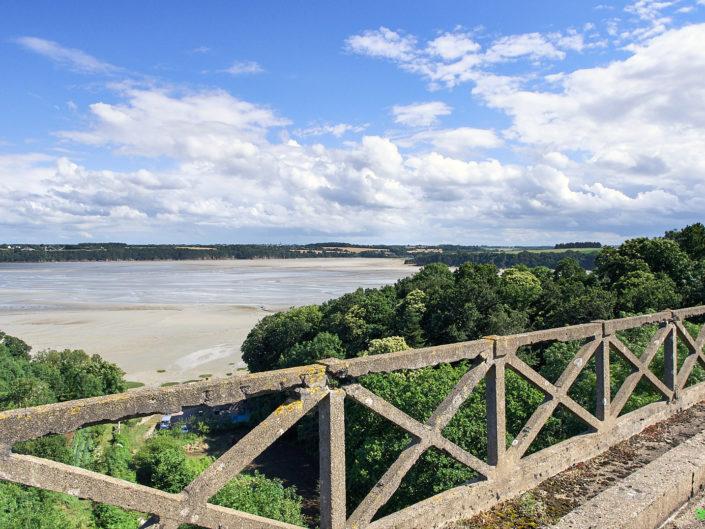 Vue sur la Baie de la Fresnaye depuis le Viaduc de Port Nieux