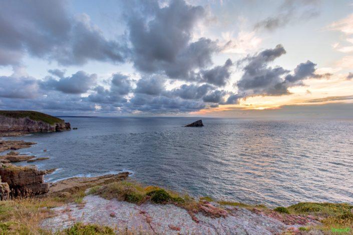 Coucher de soleil sur l'Amas du Cap Fréhe