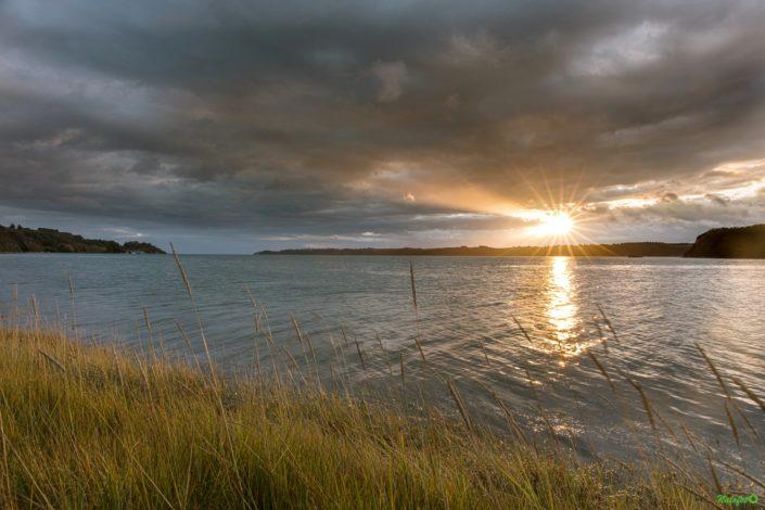 Lever du jour dans la baie de la Fresnaye septembre 2019