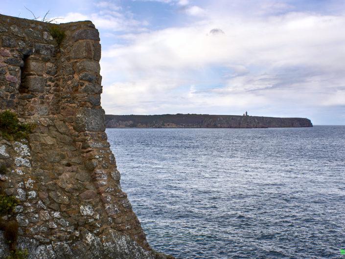 Pointe du Cap Fréhel depuis les murailles du Fort la Latte - la Roche Goyon