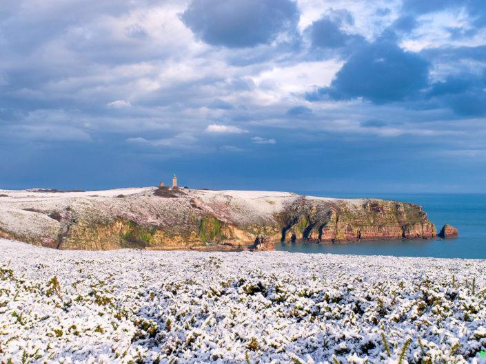Neige sur le Cap Fréhel