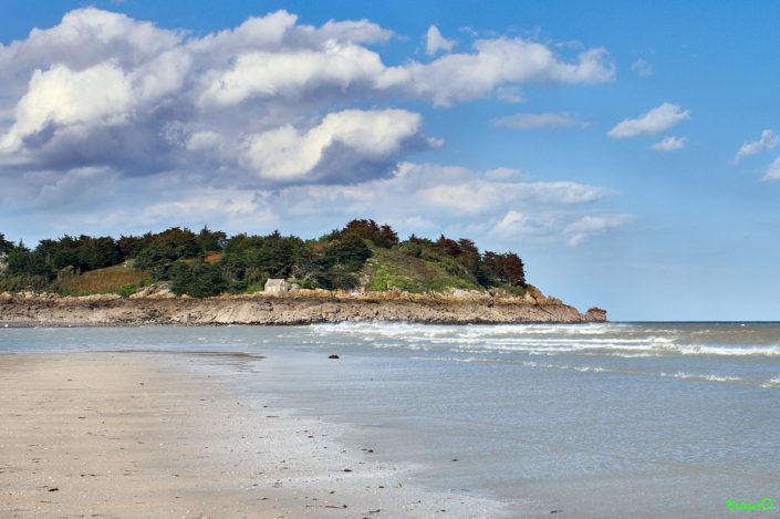 Ailleurs en Bretagne : Île des Ebihens à Saint Jacut de la Mer