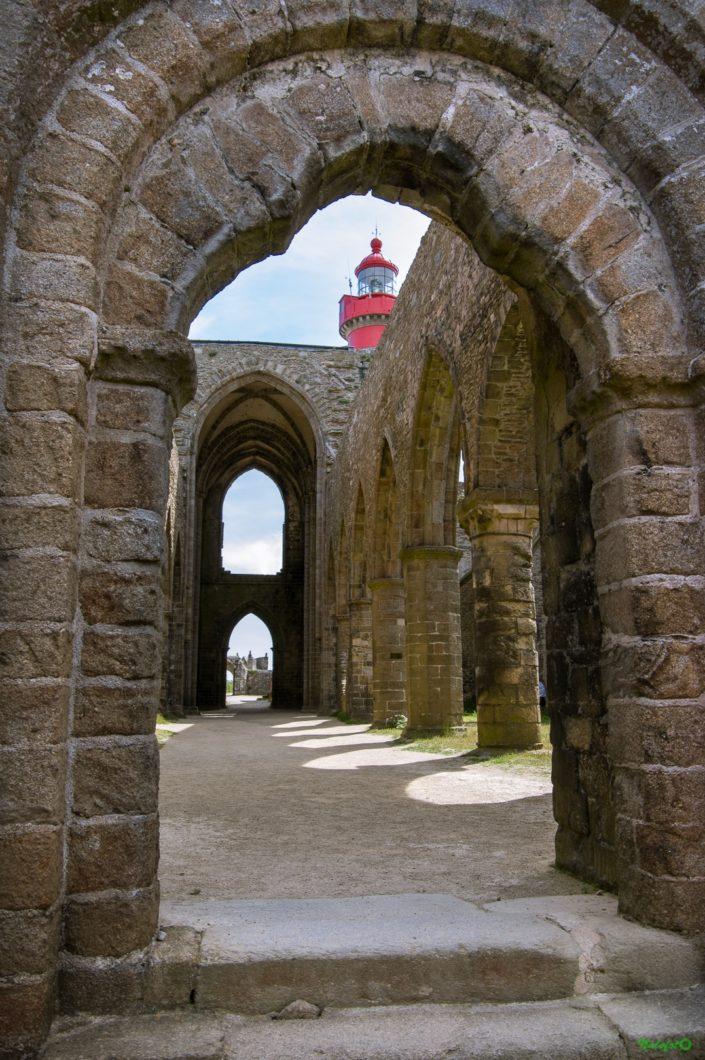 l'abbaye de la pointe Saint Mathieu