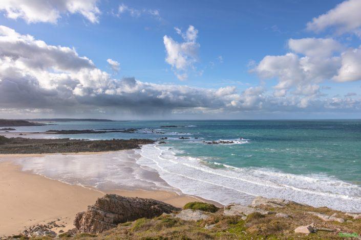 Panorama de la la plage de la fosse