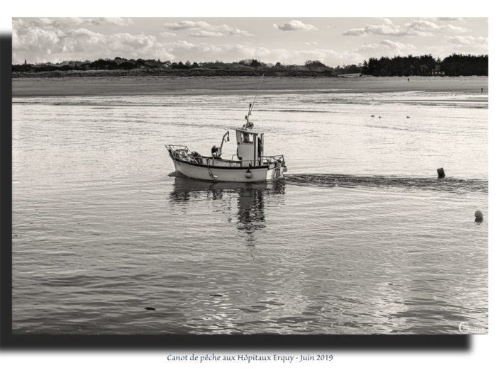 Tableau bateau de pêche
