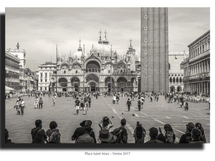 Tableau Place St Marc à Venise