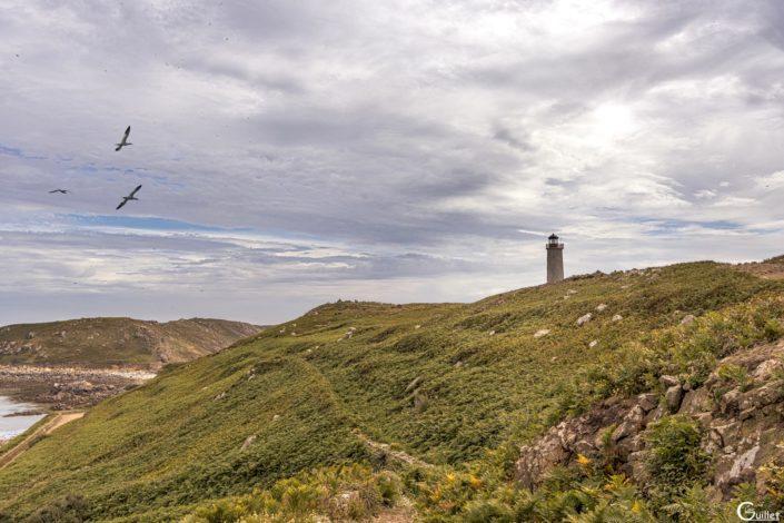 découverte des 7 iles - L'île aux Moines avec son phare