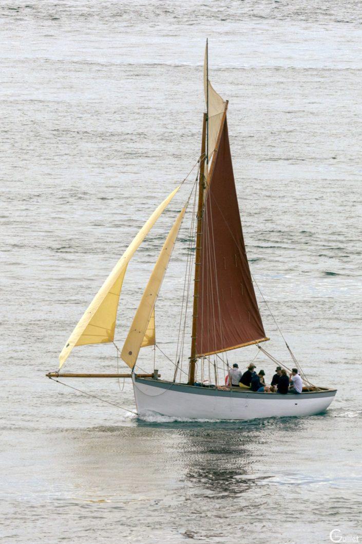 découverte des 7 iles - petit voilier traditionnel