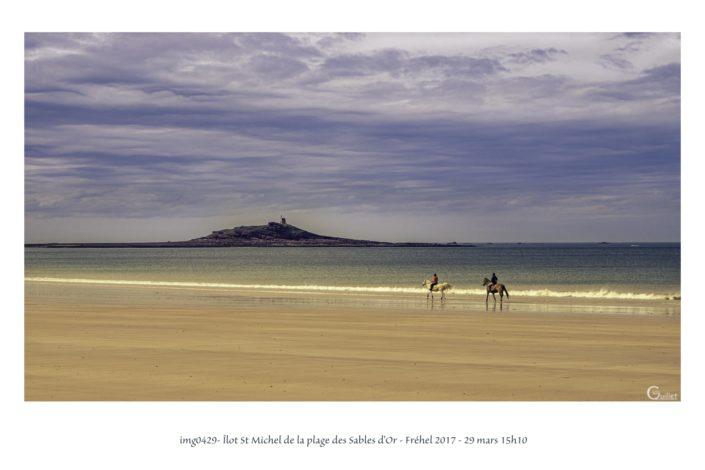 img0429 plage des Sables d'Or et îlot St Michel
