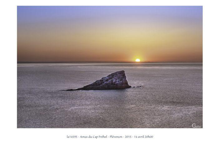 la14495 coucher de soleil sur l'Amas du Cap