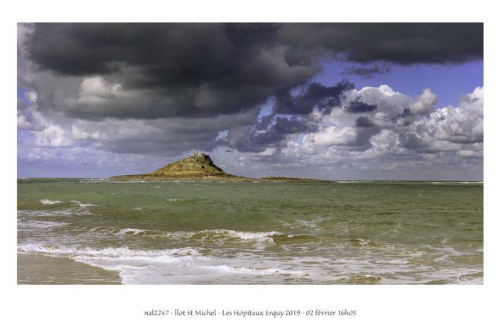 Plage de l'îlot St Michel