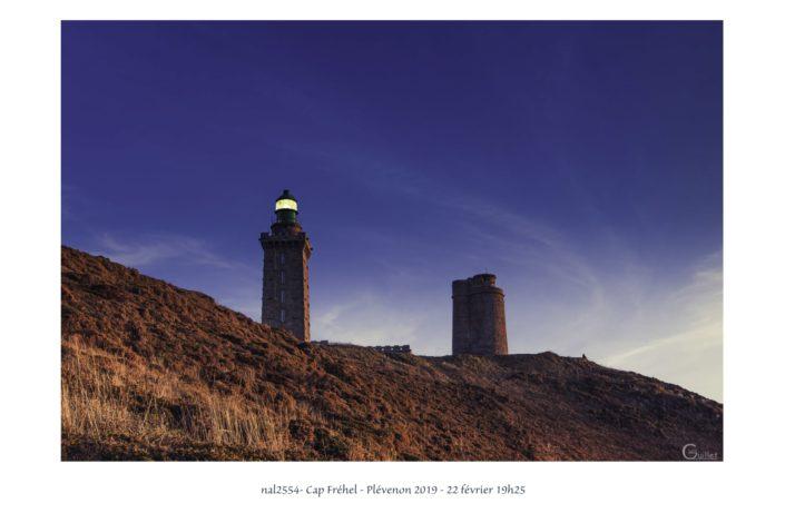 Fin de journée sur le phare du Cap Fréhel