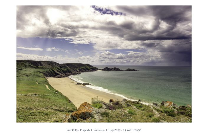 nal3639 plage de Lourtuais à Erquy