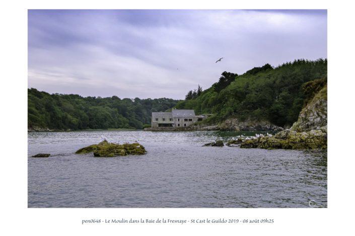 pen0648 le moulin à marée de la Baie de la Fresnaye