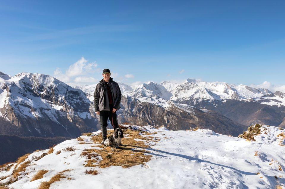 Le photomarcheur dans les Pyrénées en février 2021