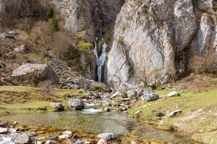 cascade au plateau de Sanchèse