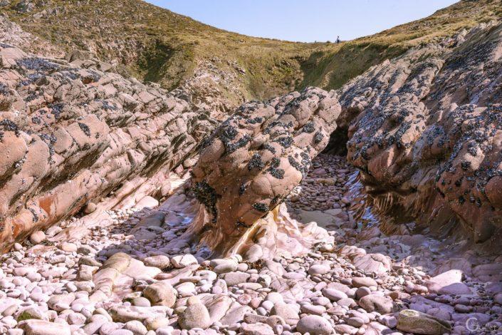 cap d'erquy rochers élimés par la mer