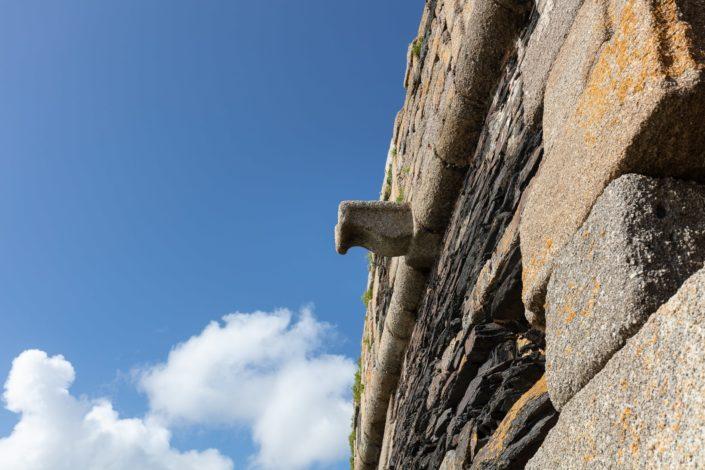Crozon : Gargouille du mur de la Basse de Cornouaille - Roscanvel 2021