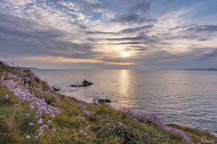 Crozon : Coucher de soleil à la Pointe de Tar ar Grip